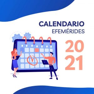calendario efemérides redes sociales 2021